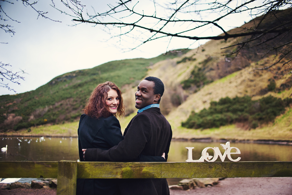 engagement session edinburgh