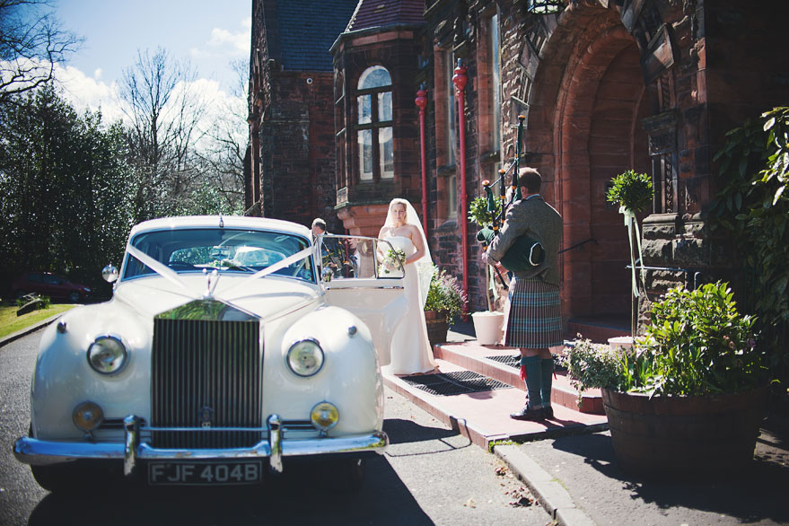 burgh hall wedding photography