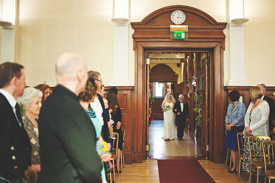 wedding glasgow burgh hall