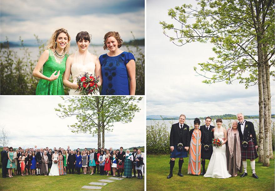 loch lomond lodge wedding