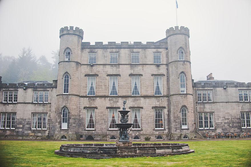 melville castle scotland edinburgh
