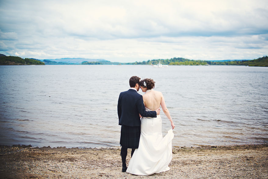 wedding at lodge on loch lomond