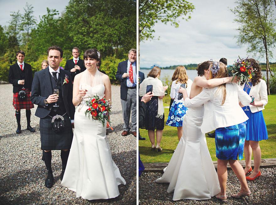 wedding loch lomond