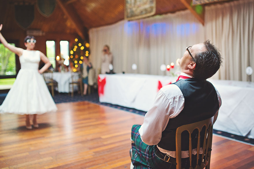 dance wedding surprise