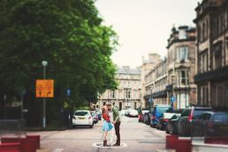 edinburgh engagement session
