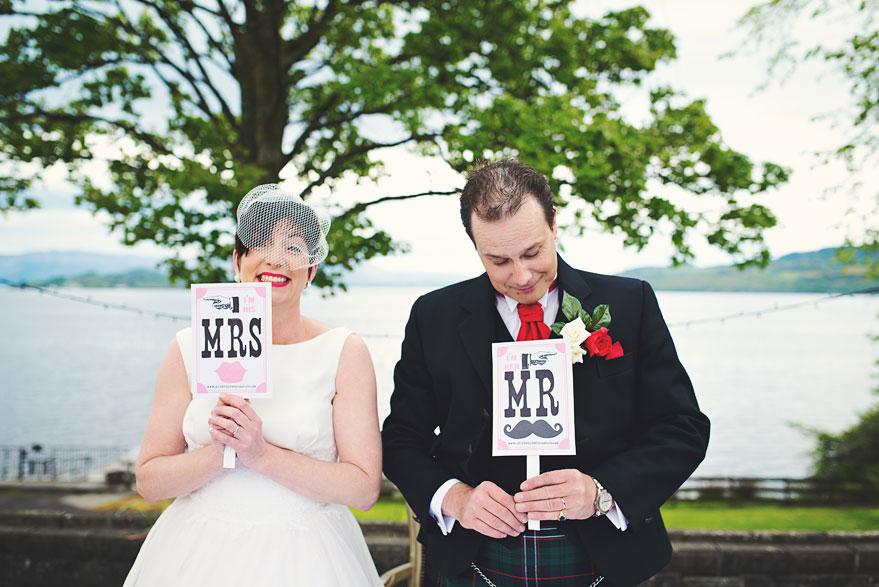 wedding at loch lomond