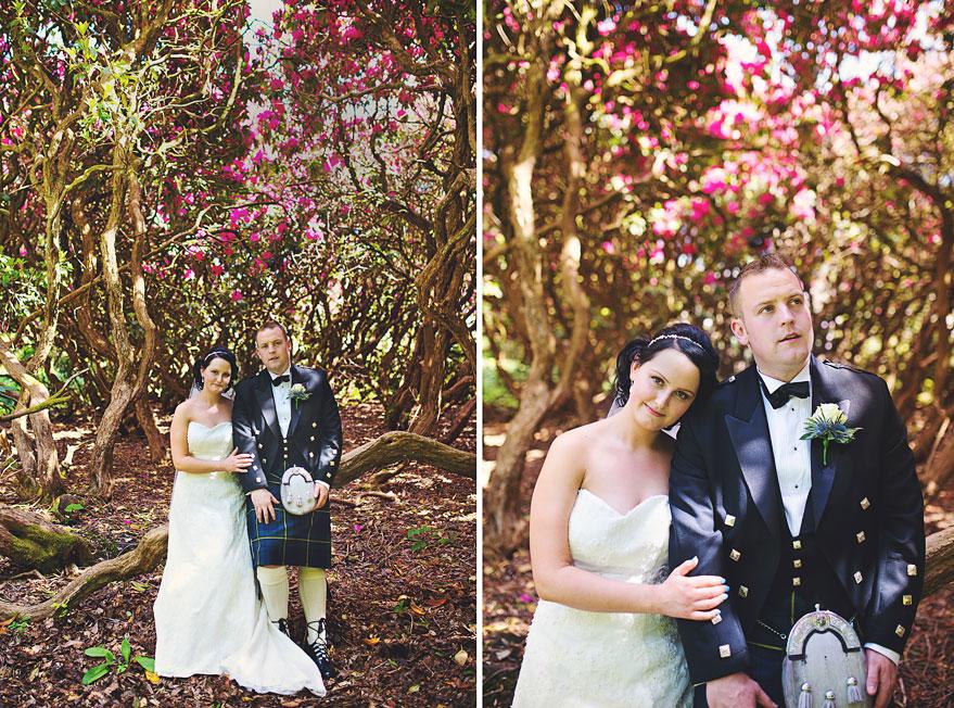 roman camp wedding