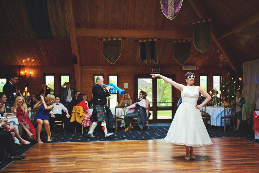 surprise dance wedding