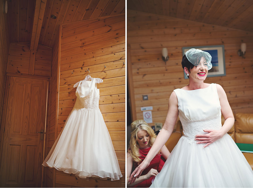 cruin hotel bride getting ready