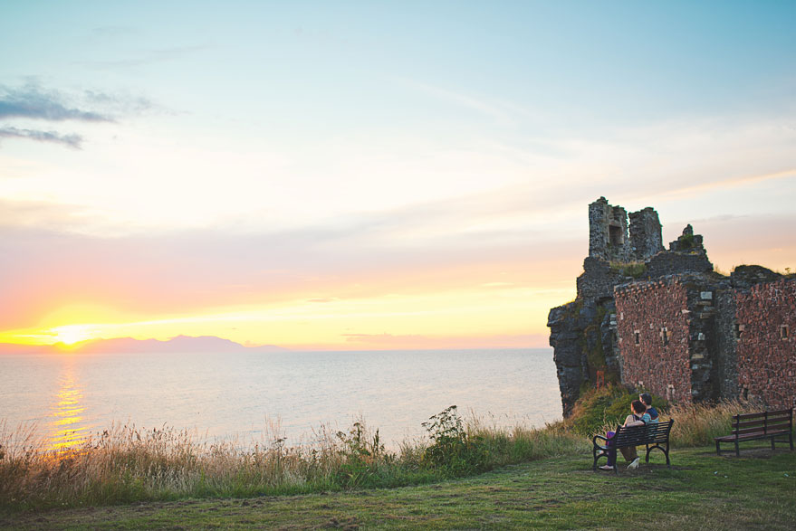 dunure castle wedding
