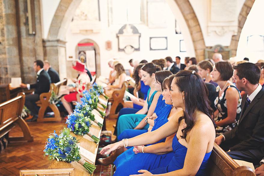 bridal party wedding guernsey