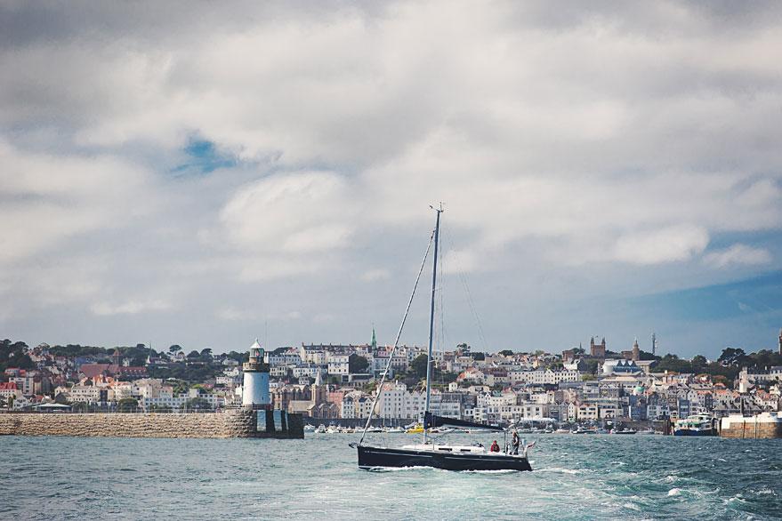 guernsey wedding boat trip