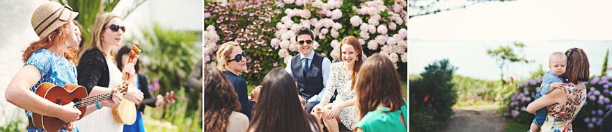 herm island wedding photos