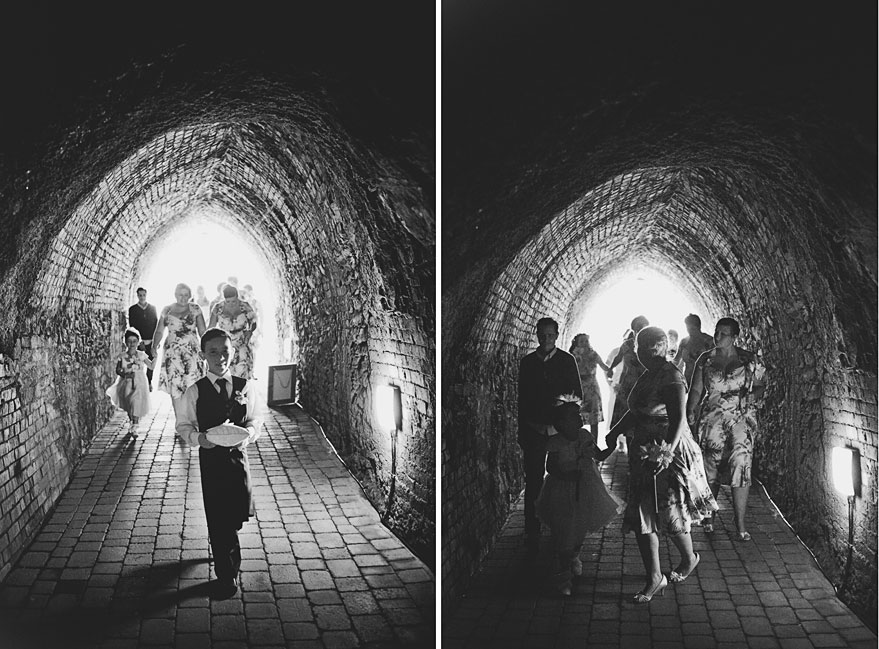 wedding at tunnels