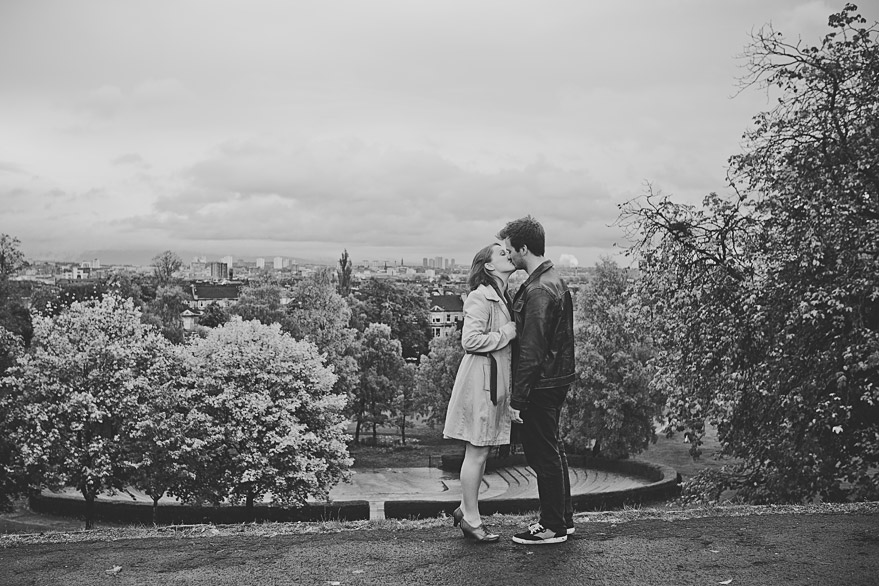 glasgow engagement session