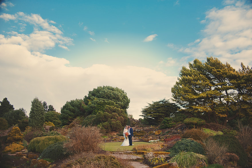 wedding botanic gardens edinburgh