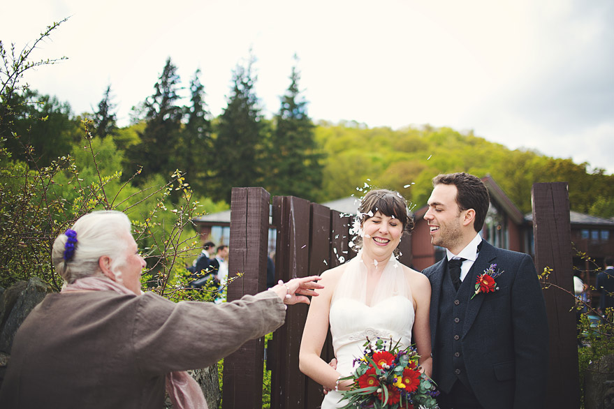 wedding loch lomond scotland