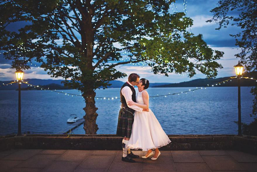 wedding photos loch lomond