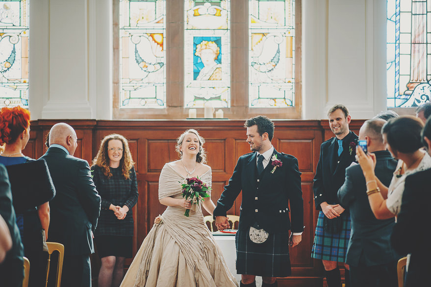 burgh hall wedding