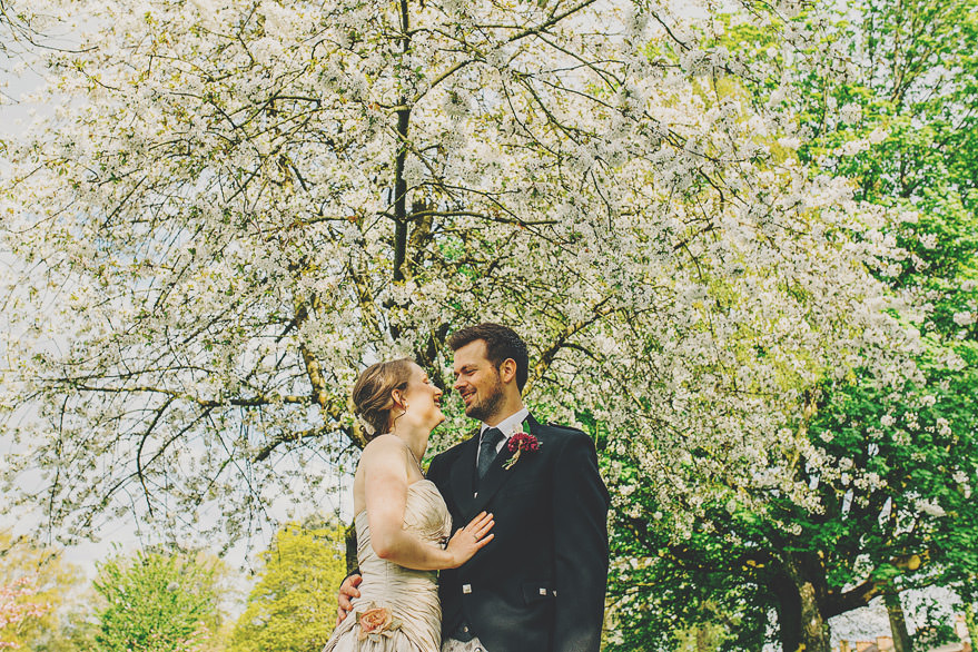 spring wedding photos