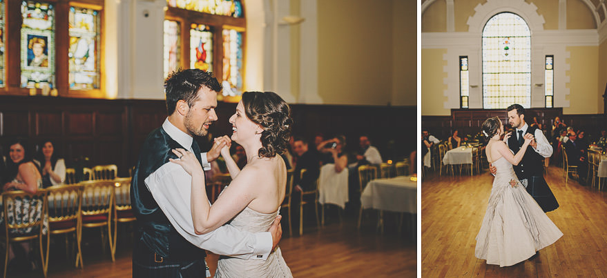first dance at burgh hall glasgow
