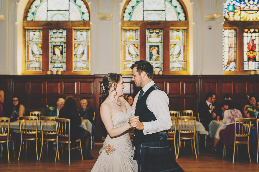 burgh hall first dance