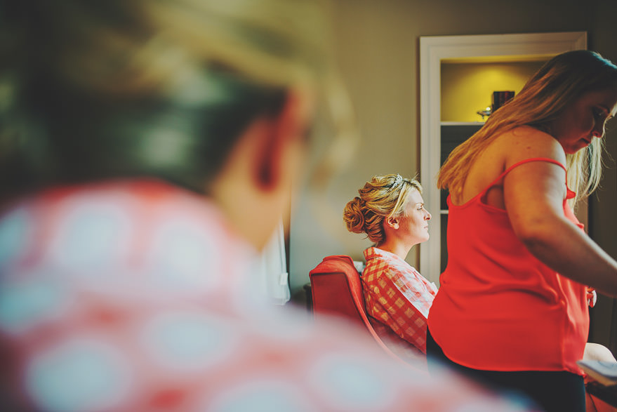 bride getting ready aberdeen
