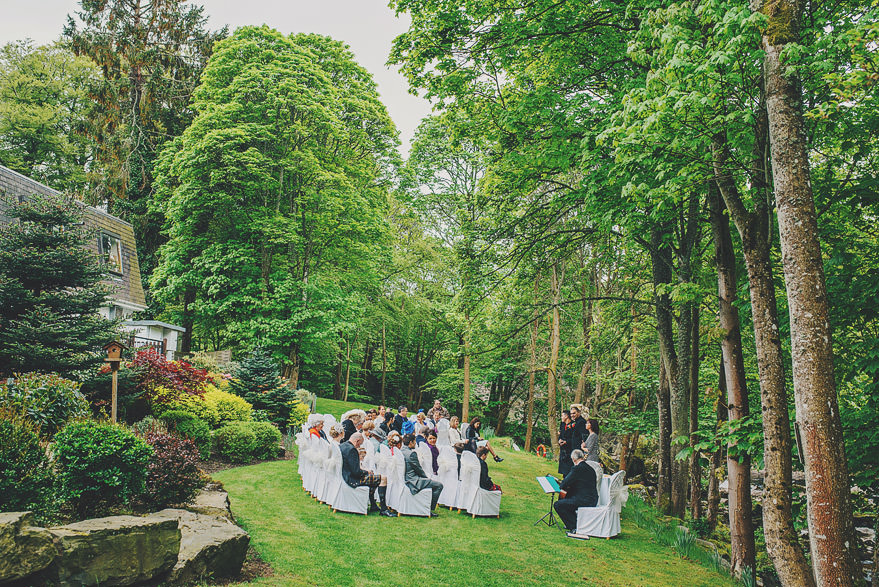 outside wedding ceremony aberdeen