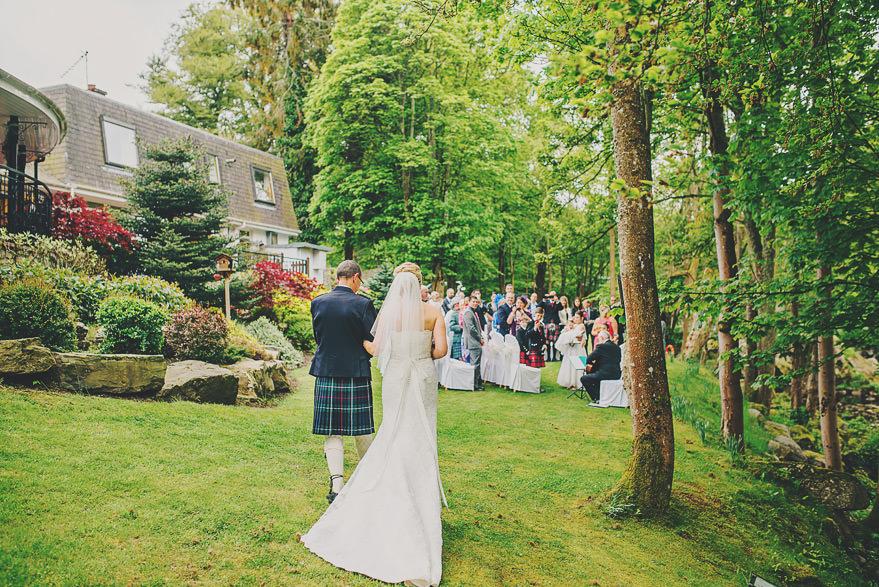 reportage wedding photographer aberdeen
