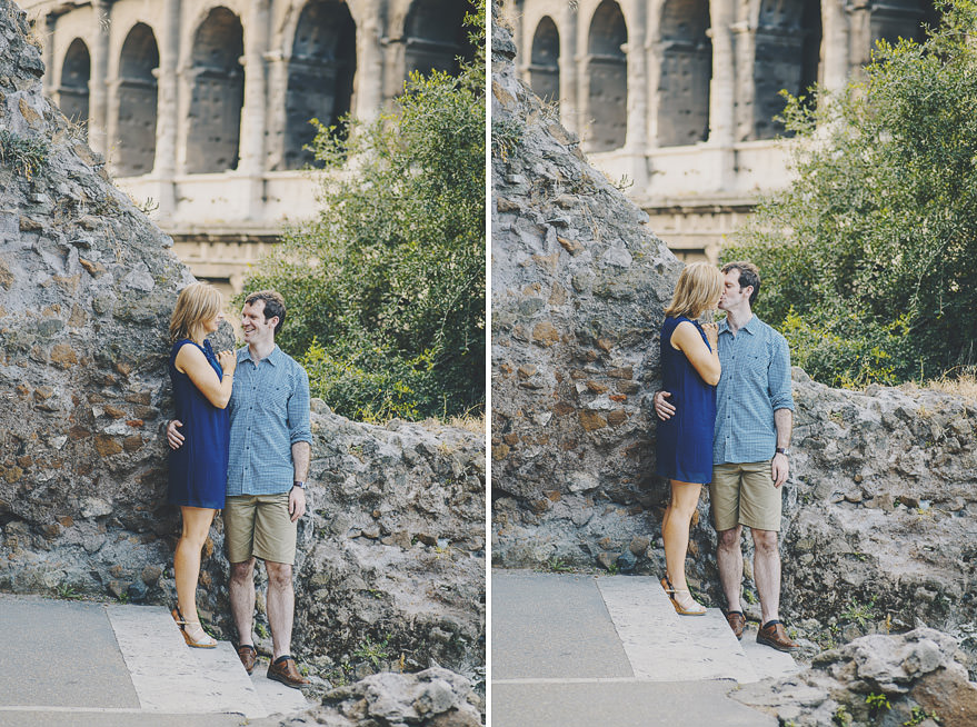 rome engagement session