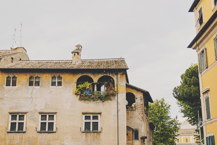 rome romantic streets
