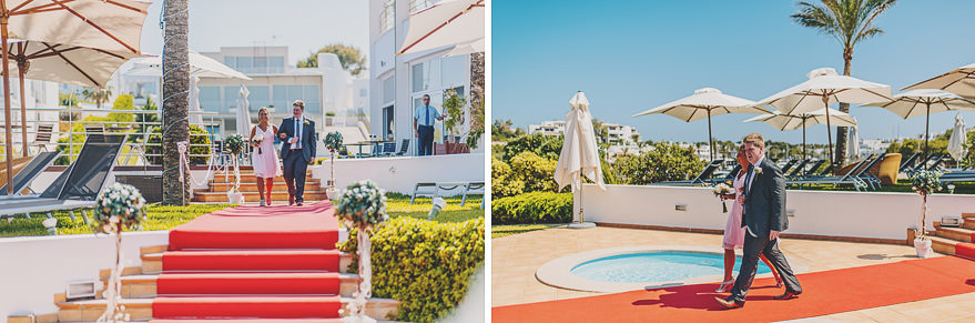 wedding photographer at yacht club cala d'or