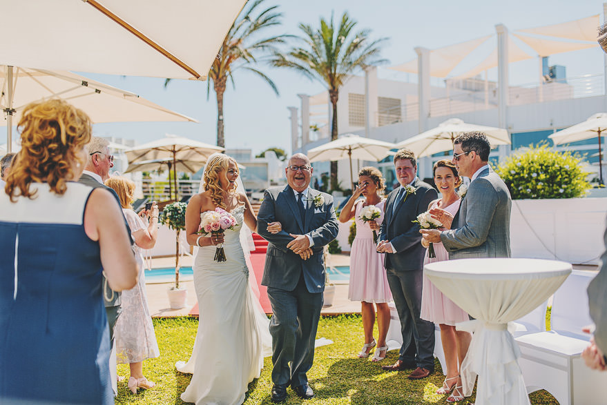 cala d'or yacht club wedding