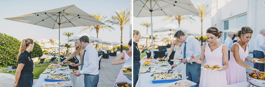 mallorca wedding buffet