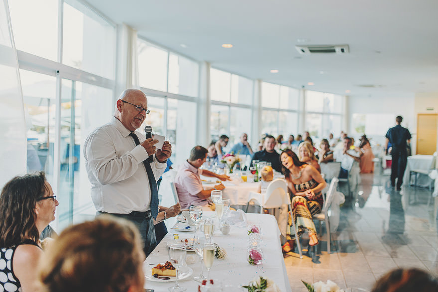 father speech mallorca wedding