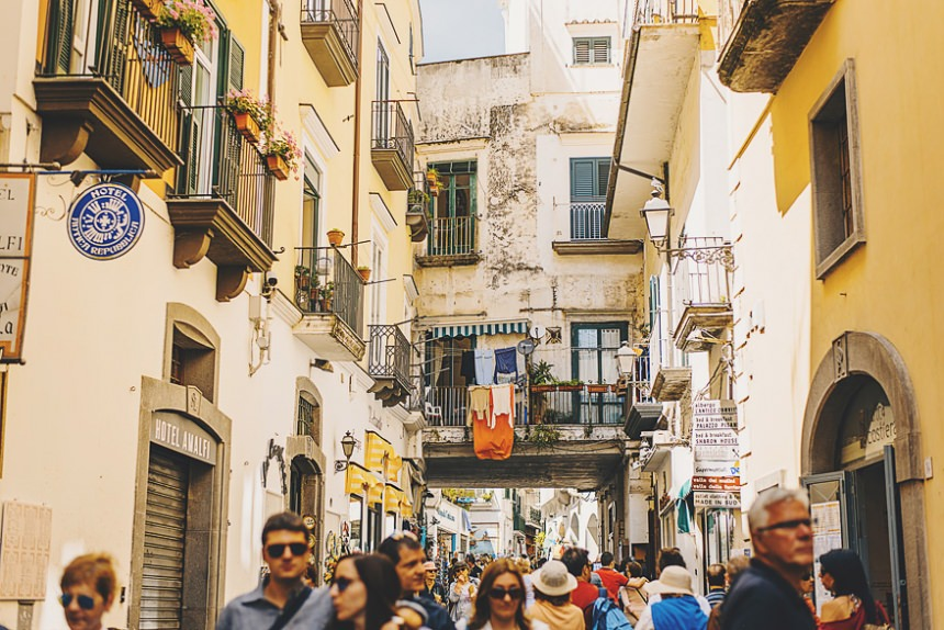 streets of amalfi