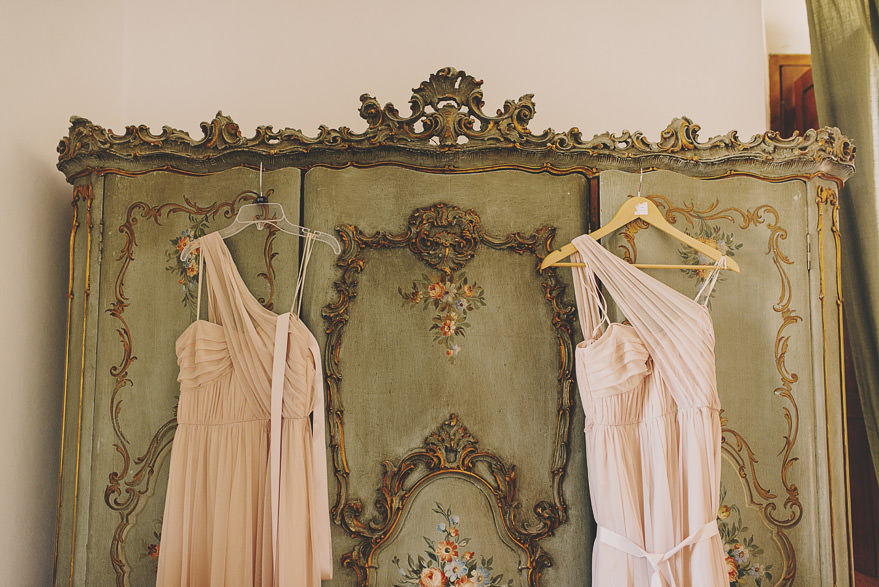 bridesmaids dress rome