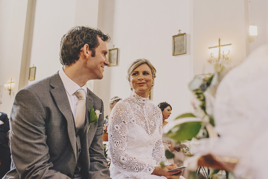 christian wedding in italy