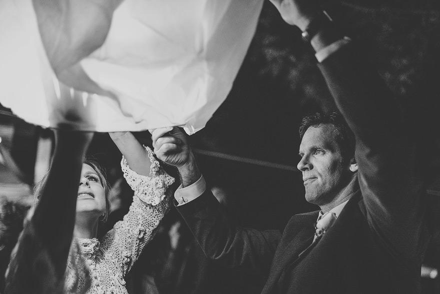 romantic wedding ceremony in italy
