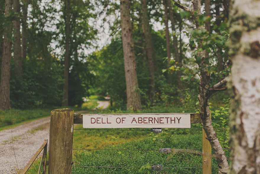dell of abernethy entrance