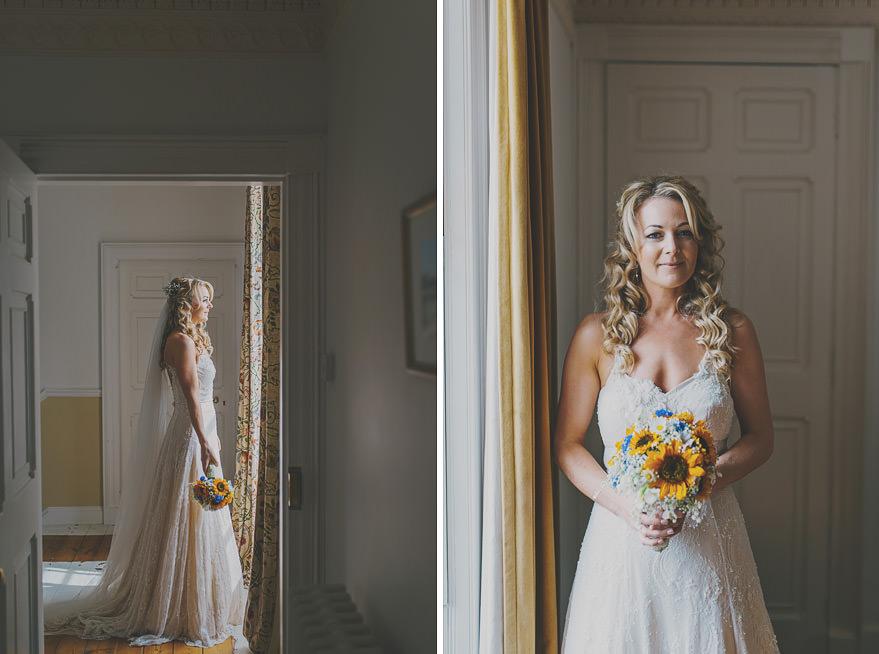 bride's portraits scotland