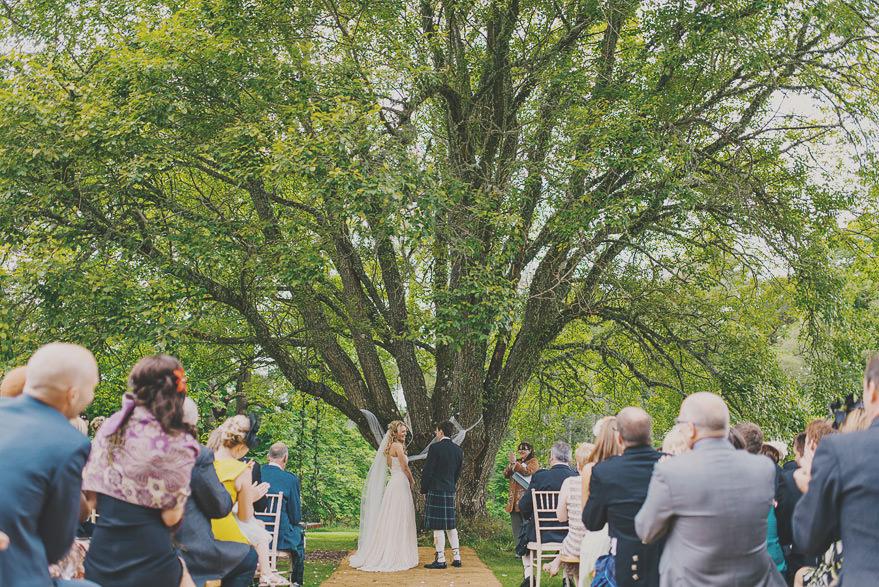 dell of abernethy wedding photos