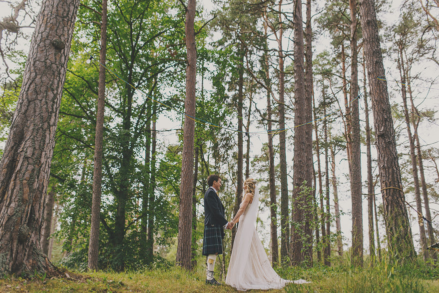 scotland wedding outdoor