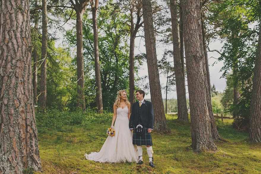 wedding in cairngorms