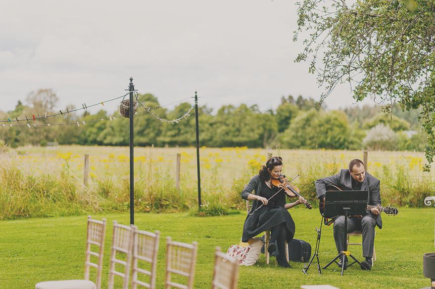 outdoor wedding band scotland