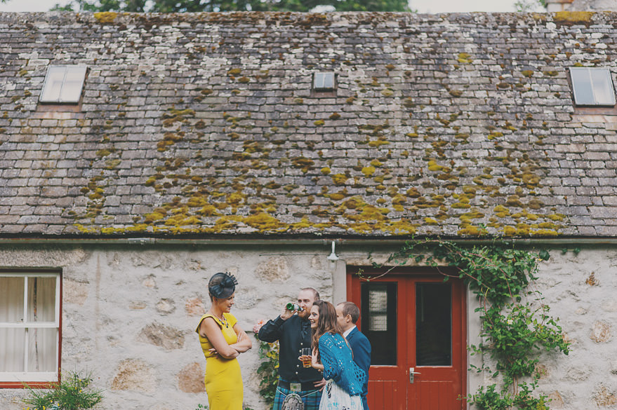 cottage wedding scotland