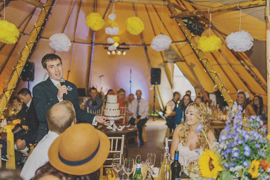 tipi wedding photos