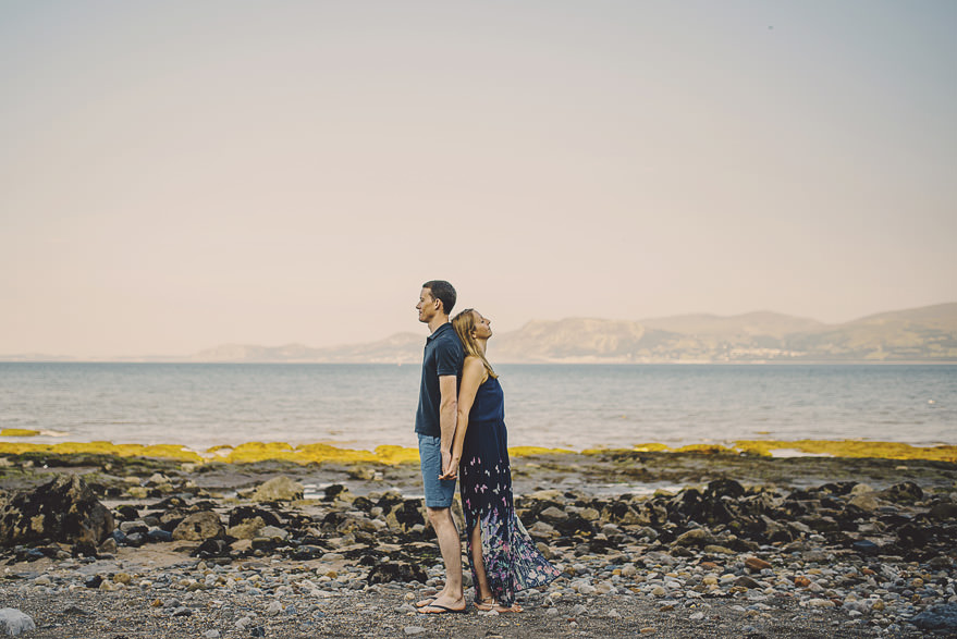alternative wedding photographer wales