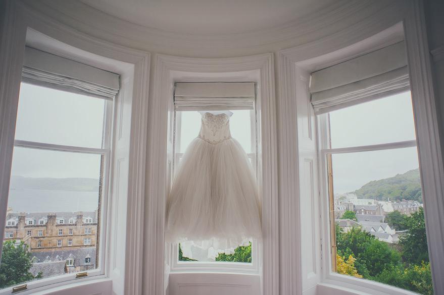 oban wedding dress
