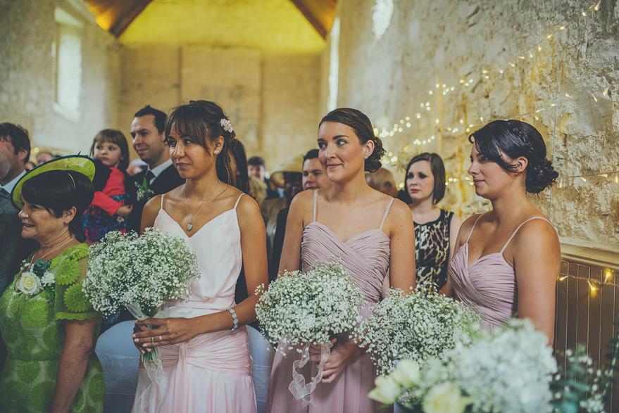 bridesmaids lochnell castle wedding